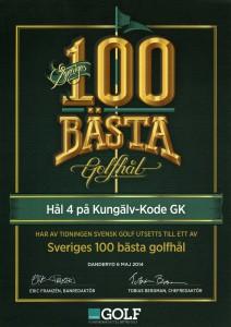 Vår par 6:a är utsett till ett av Sveriges bästa golfhål enligt Svensk Golf. Ett av många bra hål på bår golfbana